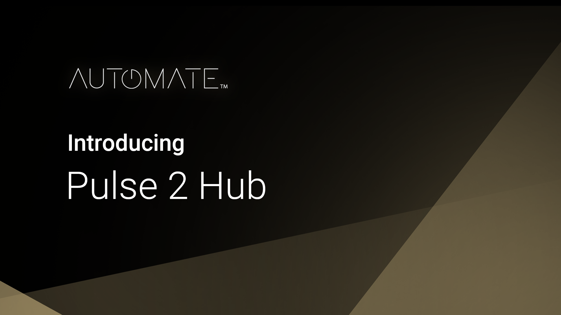 Pulse 2 Hub Introduction Overview