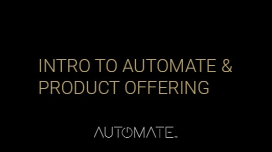 Automate Comprehensive Product Offering